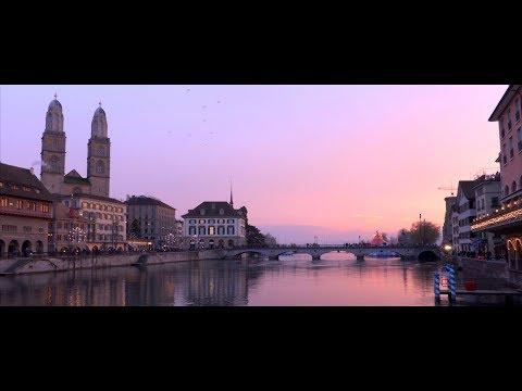 Zurich by Night (DJI Osmo Pocket, low light, cinematic short film, 4K)