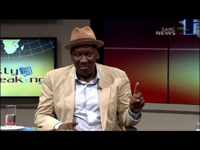 Frankly Speaking, South African Police Minister Bheki Cele.