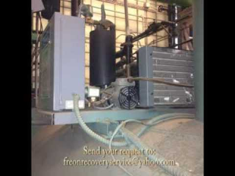 freon reclaimer machine