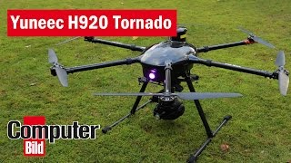 Yuneec Tornado H920: Profidrohne im Testflug