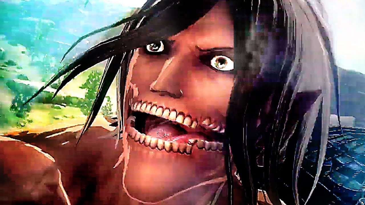 ATTACK ON TITAN 2 Finaler Battle-Trailer (2019) PS4 / Xbox One / Switch + video