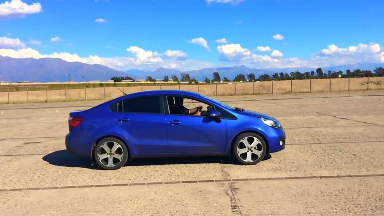 Kia Rio Blue Youtube