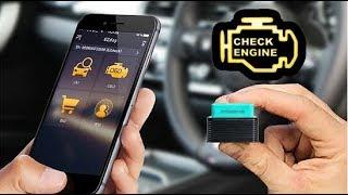 EZcheck OBDII Scan Tool Green. Сканер для Диагностики Автомобиля.