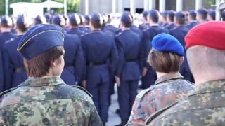 Das Gelöbnis der Bundeswehr. Ein Tagesprotokoll.