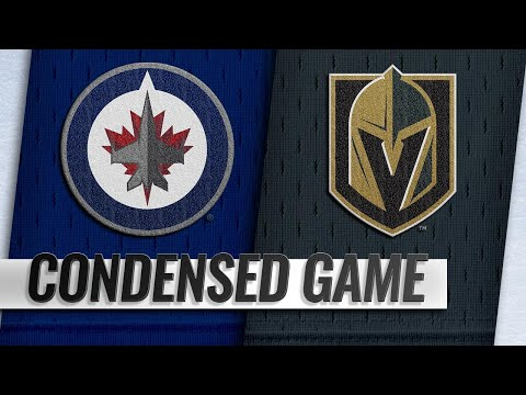 02/22/19 Condensed Game: Jets @ Golden Knights