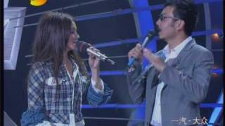 Vivian 徐若瑄 - performing @ Hunan show (湖南卫视)