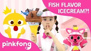 Likey Likey Ice Cream Shop-Fish Flavor Ice Cream?! | Baby Shark | Pinkfong Shows for Children