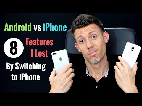 Android vs iPhone: 8 Android Features I Lost By Switching To iPhone || Ryan David