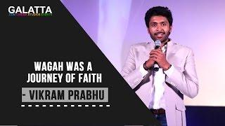 Wagah was a journey of faith - Vikram Prabhu