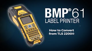 brady bmp61 printer how to tls conversion