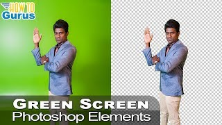 Photoshop Elements Green Screen Removal: Cut Out Image