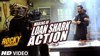MAKING OF LOAN SHARK ACTION | Rocky Handsome | John Abraham, Nishikant Kamat | T-Series