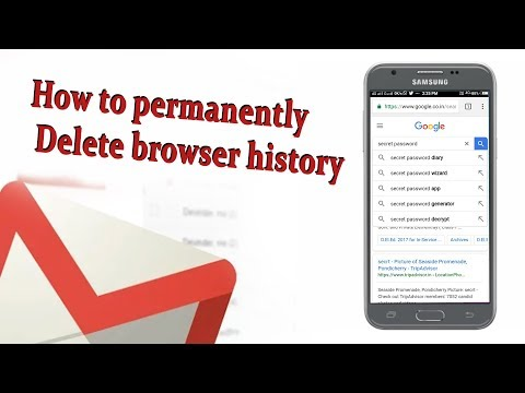 How to Delete Browser History