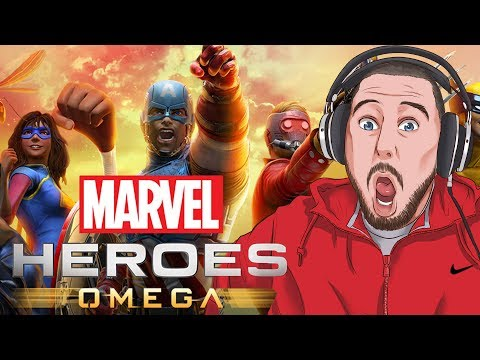 THIS NEW MARVEL GAME IS AMAZING!   Marvel Heroes Omega Gameplay PART 1