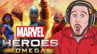 THIS NEW MARVEL GAME IS AMAZING! | Marvel Heroes Omega Gameplay PART 1