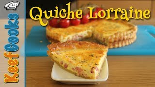 Best Quiche Lorraine Recipe - Quick and Easy #KeefCooks