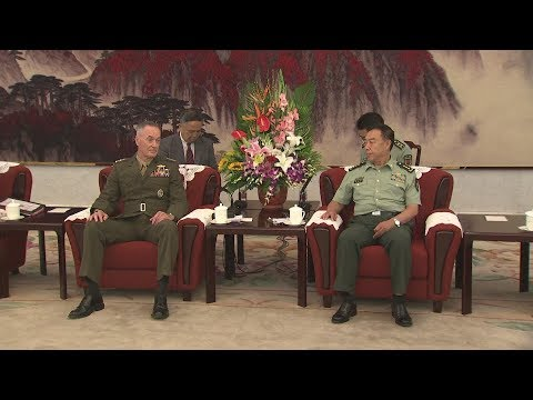 Chinese Senior Military Officer Meets US General