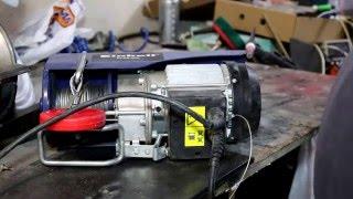 Обзор и обслуживание электро тельфера Einhell BT-EH 250(В данном видео проведен краткий обзор, а также техническое обслуживание электро тельфера Einhell BT-EH250. Подпис..., 2015-12-04T21:35:18.000Z)