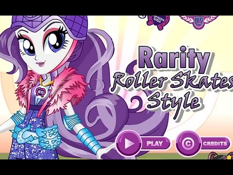 Радужный Рок Раритти Rarity Roller Skates Style
