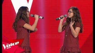 Olta dhe Olsa - Wrecking Ball   Audicionet e Fshehura   The Voice Kids Albania 2019