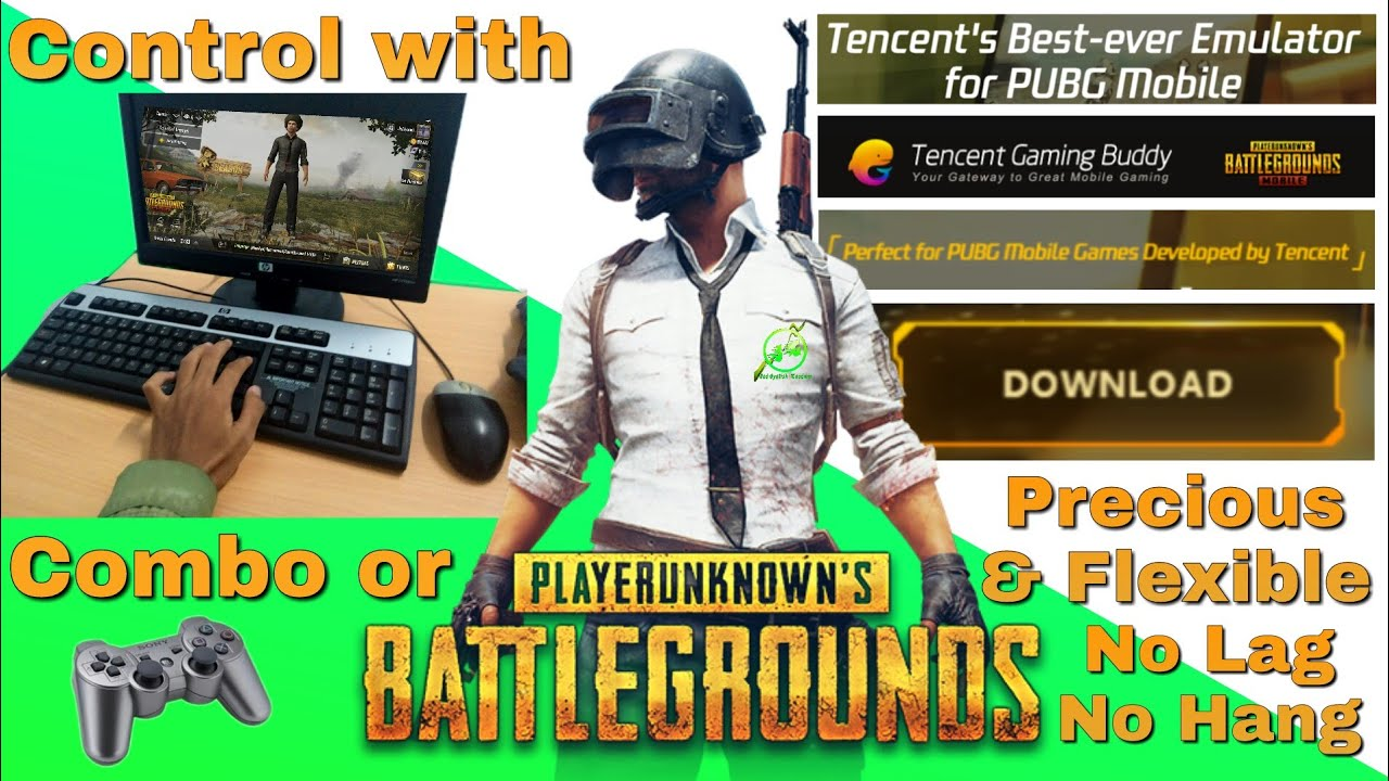 Tencent's Best-ever Emulator for PUBG Mobile | Download Now