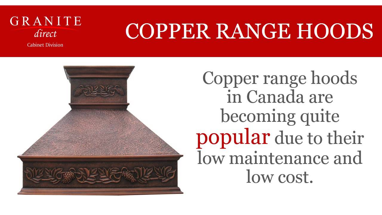 Copper Kitchen Sinks, Range Hoods and Copper Fans in Canada - YouTube