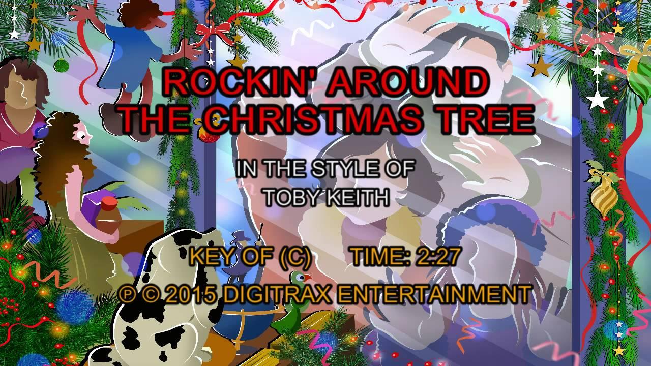 Rockin' Around The Christmas Tree (Backing