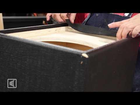 Speaker Build - Vinyl Covering