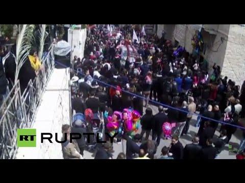 LIVE: Easter Holy Fire Ceremony in Jerusalem