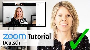 Zoom Tutorial: Damit machst Du Deine online Meetings