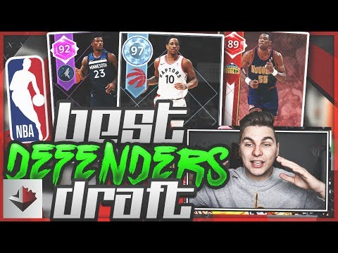 BEST DEFENSIVE PLAYERS DRAFT ON NBA 2K18!