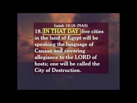 Egypt in Prophecy - Isaiah 19 - Geoge Tabac