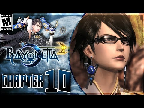 Bayonetta 2: Chapter 10 - The Depths | Walkthrough on Nintendo Switch!