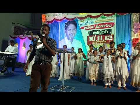 Pakshiraju vale Telugu Christian live song Shalem Miriyala pads hemanth keys Philip singar