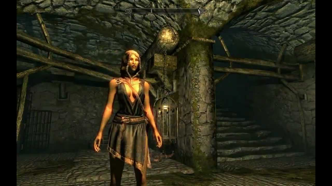 girl elf Skyrim nude