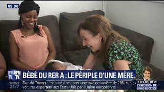 Bébé né dans le RER A: des retrouvailles heureuses entre la mère et celle qui l'a aidée à accoucher