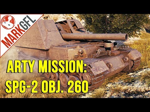 Oh Noes! Mark Plays Artillery! - G. W. Tiger (P) World of Tanks thumbnail