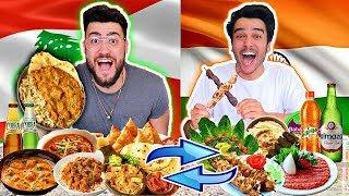 LEBANESE & INDIAN SWAP LUNCH FOODS