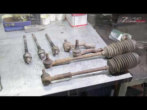 10 советов при ремонте рулевой рейки