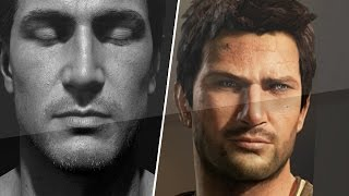 Uncharted 4 New PS4 Character Graphic Screenshots Revealed! Vs Old Characters! (Details/Comparison!)