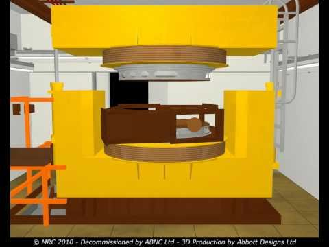 Decommissioning a MC40 Cyclotron