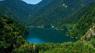 видео Дача Сталина на озере Рица