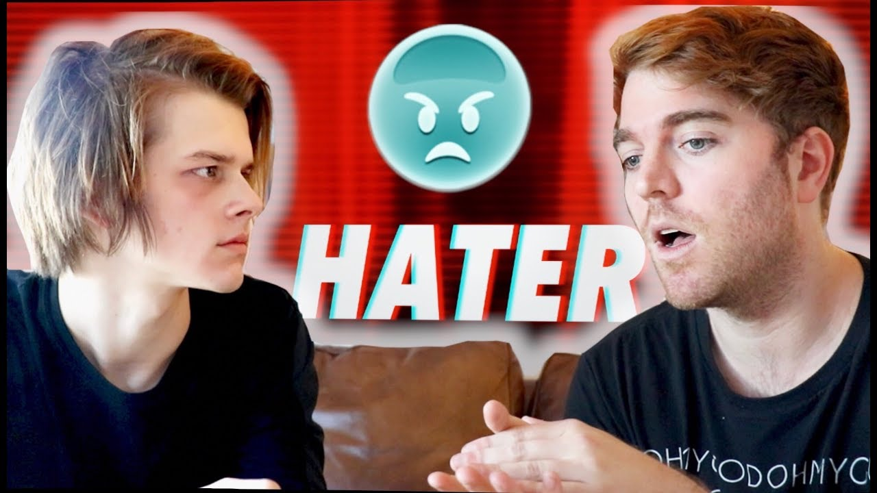 CONFRONTING MY HATER IN PERSON
