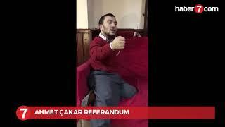 Halk ozanı Ahmet Çakar'ın referandum türküsü