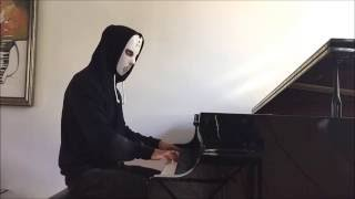 Angerfist Mashup Piano cover