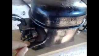 compressor caseiro de motor de geladeira tutorial