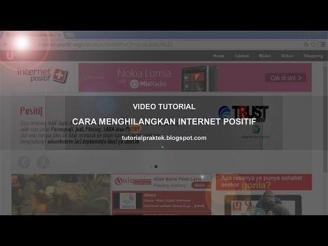 Cara Menghilangkan Internet Positif