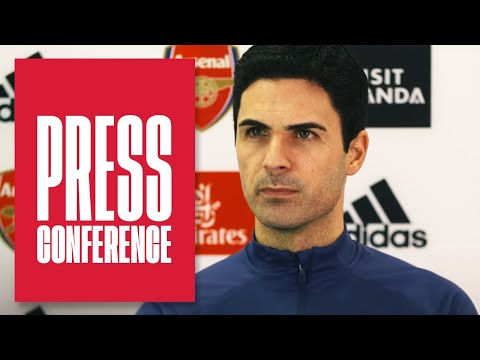 Red cards, Martinelli, Everton, & one year anniversary as manager   Mikel Arteta   Press Conference