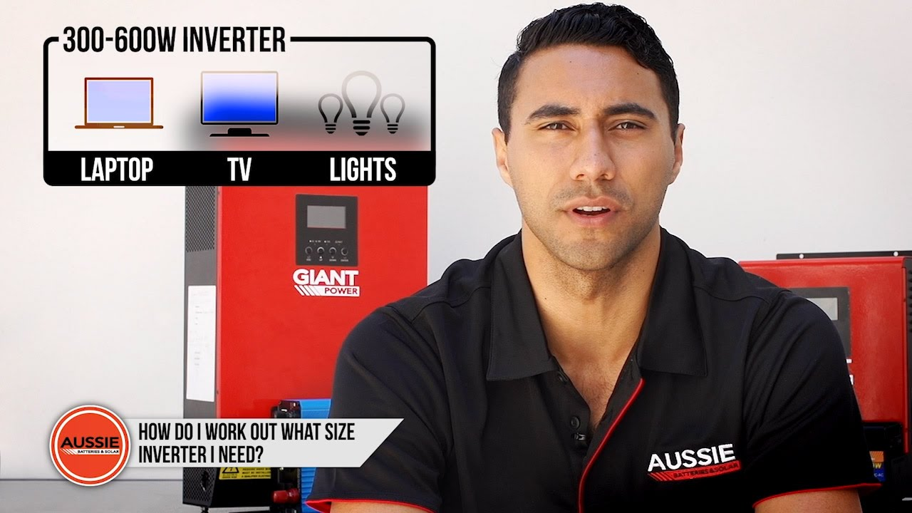 Q&A: How do I work out what size inverter I need? - YouTube