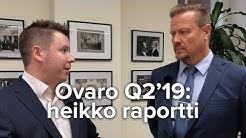 Ovaro Kiinteistösijoitus Q2'19: heikko raportti